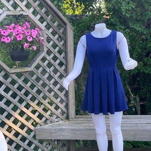 Dresses - Royal blue mini dress